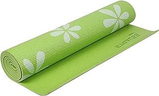 Strauss Anti-Skid Floral Yoga Mat