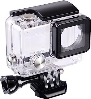 Funda resistente al agua protectora para GoPro Hero 4 Hero 3 + y Hero 3 (para uso bajo el agua resistente al agua hasta 45 m) de Suptig