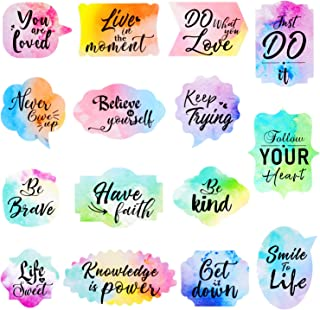 480 Pieces Motivational Stickers Inspiring Planner Stickers Inspirational Quotes Stickers Encouragement Decals Stickers fo...