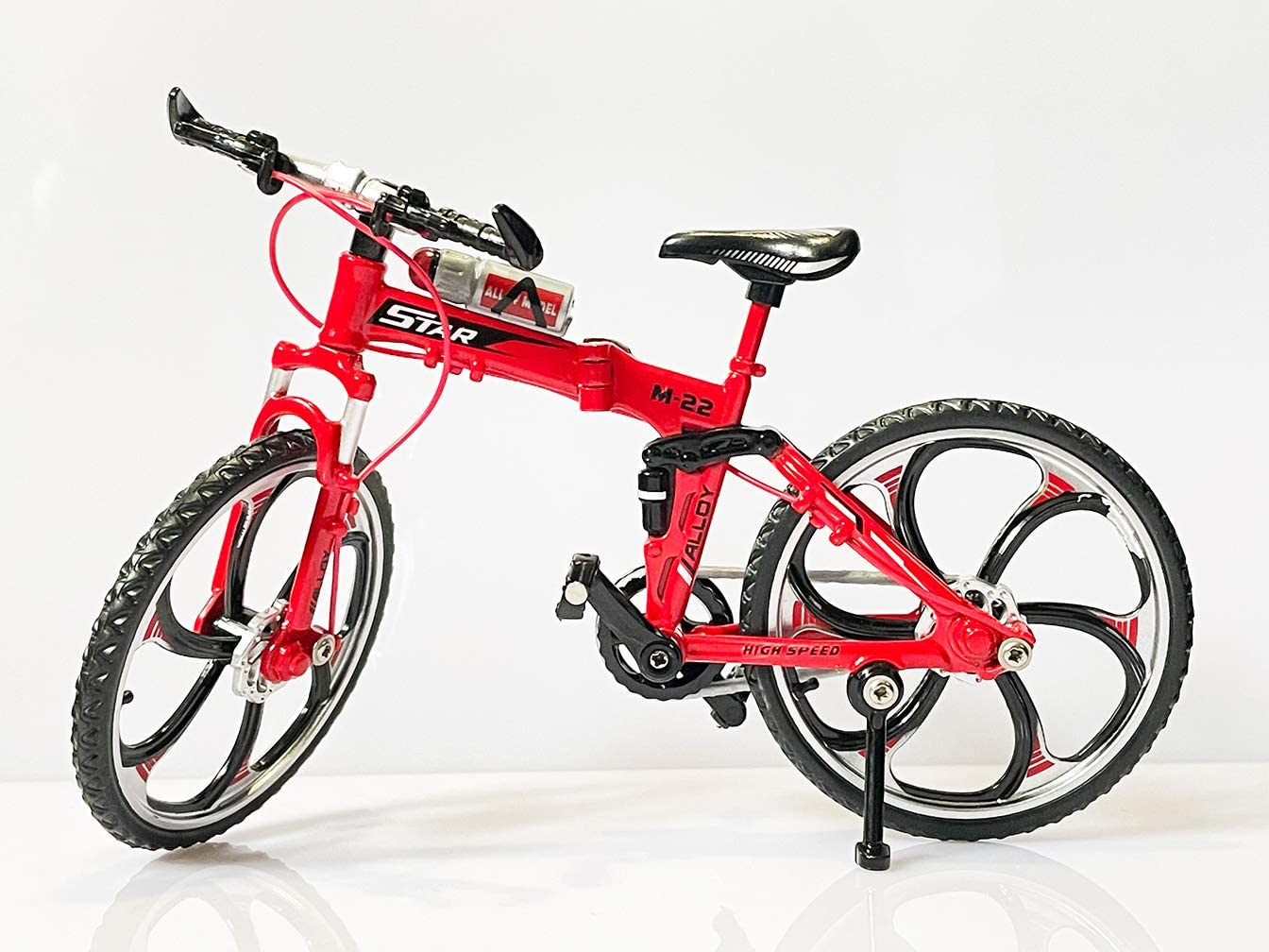 WEDEKING Alloy Mini Bicycle Toy-Finger Max 80% OFF Series Model Now free shipping Bike Suitab