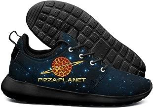 DEEEWKF New York Vegetarian Pizza Planet Mens 2018 Ultra Lighweight Sneakers Lightweight