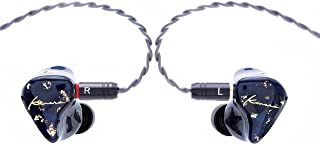 Kinera HiFiGo Audífonos Intraurales BD005 Pro Híbridos Monitores 3D Impreso Alta Resolución Auriculares Alta Fidelidad Altavoz En Estéreo con Micrófono 1BA +1DD Reducción del Ruido