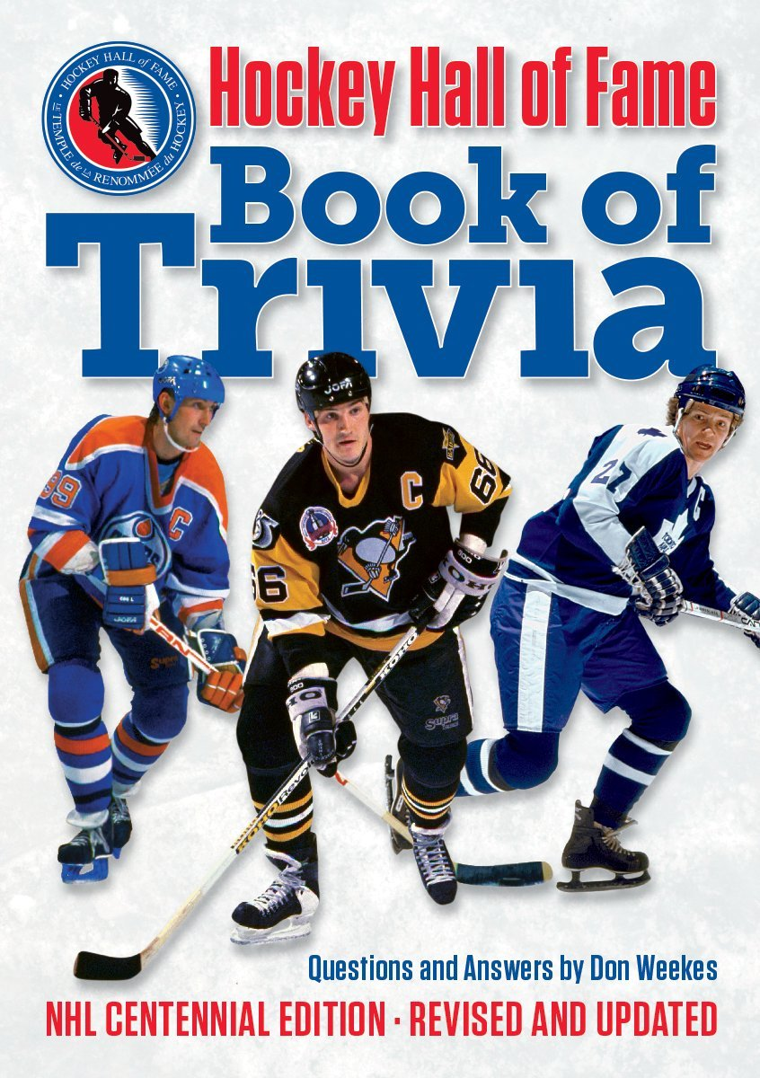 Image OfHockey Hall Of Fame Book Of Trivia: NHL Centennial Edition