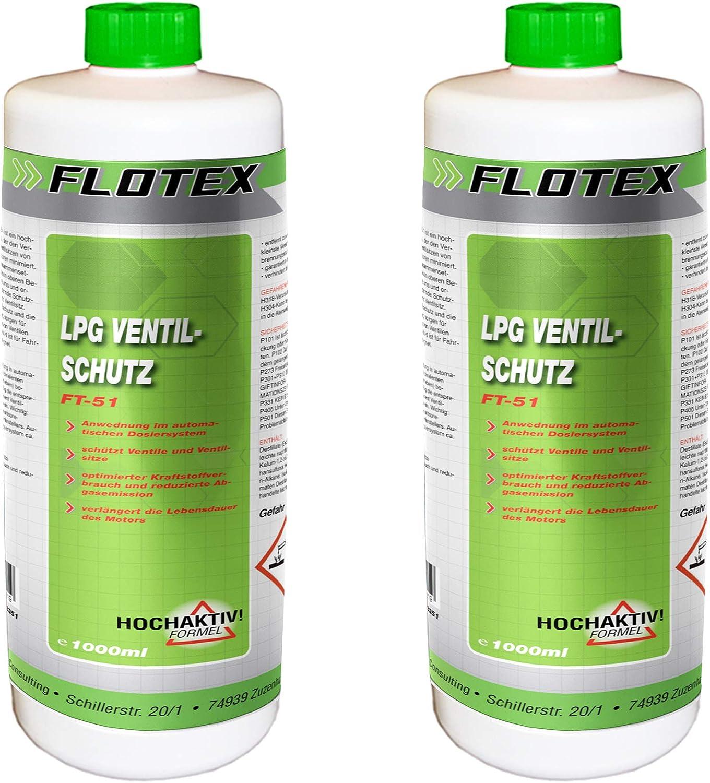 Flotex Permanent Lpg Ventilschutz 1l Additiv Gas Ventil Schutz Auto
