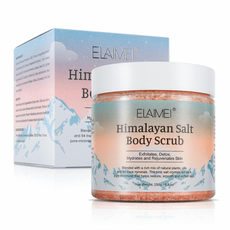 Himalayan Salt Body At the price of surprise Natural Exfoliating Scrub Houston Mall