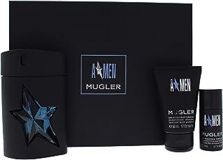 Thierry Mugler Angel Set for Men - 100 ml Eau de Toilette+ 50 ml Shaving Gel + 20 ml Deo Stick