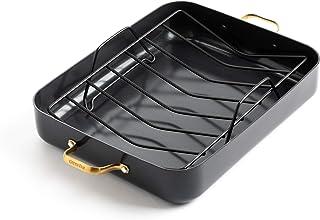 GreenPan Padova Reserve Healthy Ceramic Nonstick Roasting Pan, 13