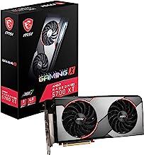 MSI Gaming Radeon Rx 5700 Xt 256-bit 8GB GDDR6 HDMI/DP Dual Fans Crossfire Freesync Navi Architecture Graphics Card (RX 57...