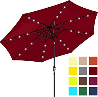 ba57e9bd4eccb Best Choice Products 10ft LED Patio Umbrella