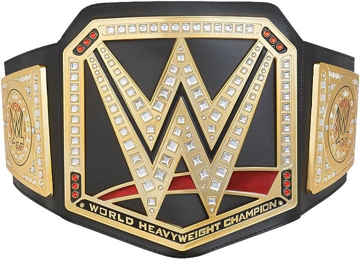 Wrestling Wwe cintura giocattolo del campionato del mondo di pesi massimi 6933506