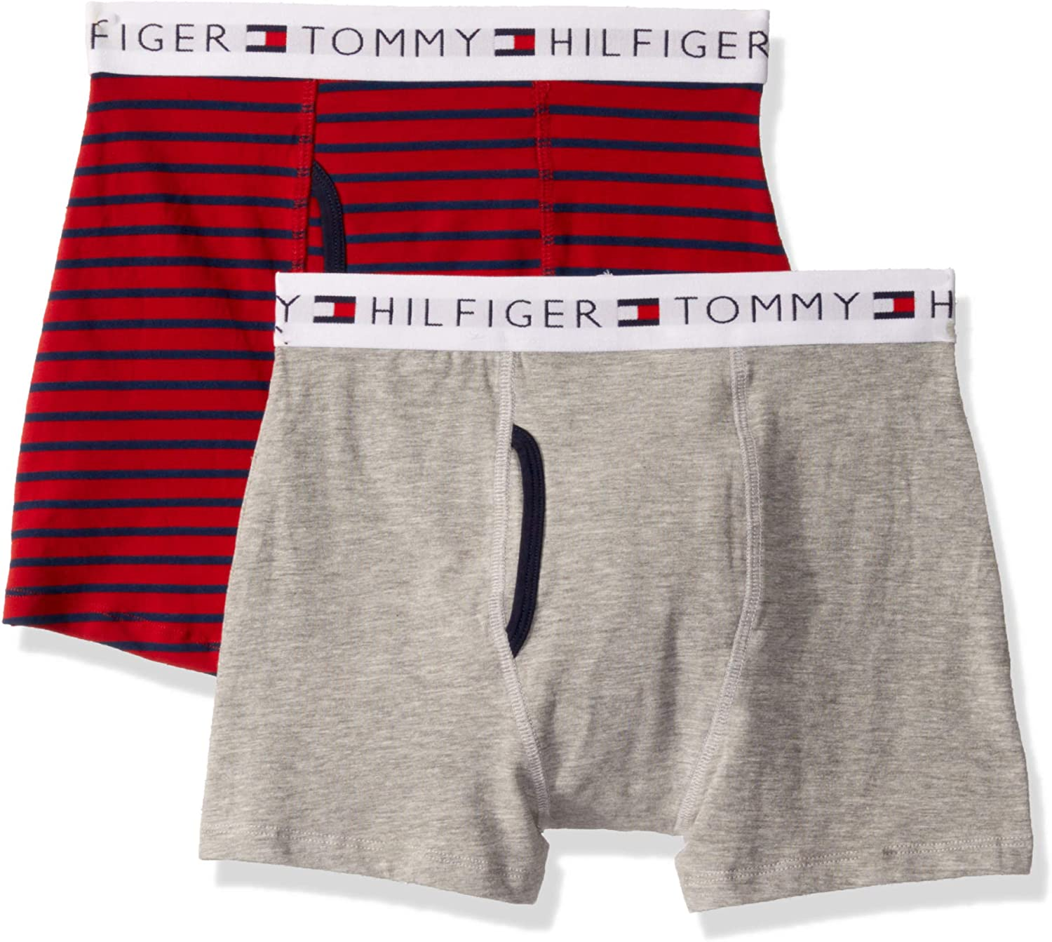 Tommy Hilfiger Boys' Boxer Briefs (Pack of 2)