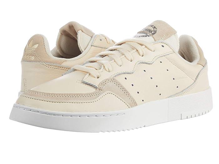 adidas Originals  Supercourt (Ecru Tint S18/Ecru Tint S18/Crystal White) Mens Shoes