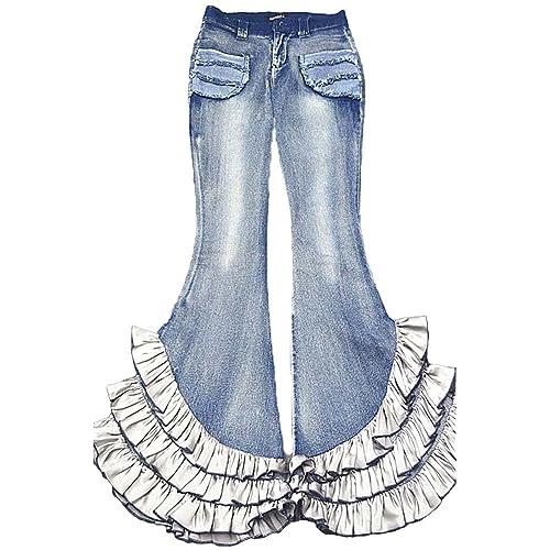 Short Flare Jeans: Amazon com