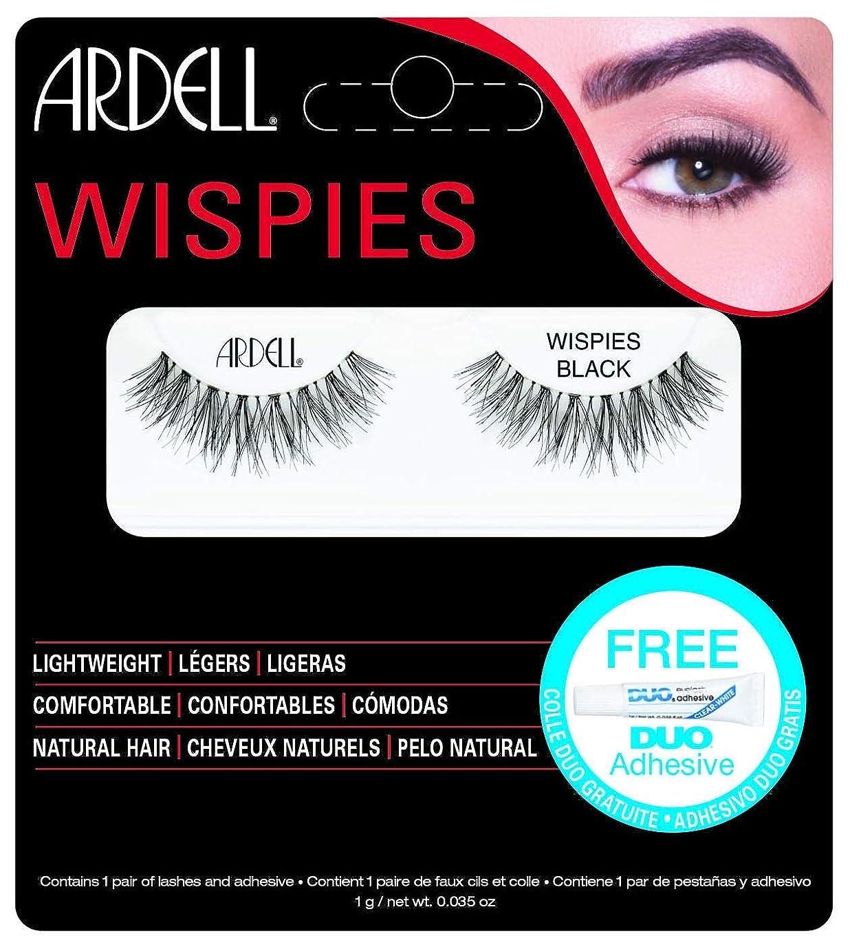 指標同封する傷跡ARDELL False Eyelashes - Invisibands Wispies Black