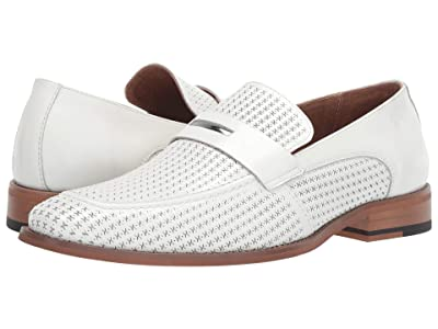 Stacy Adams Belvan (White) Men