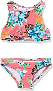 Kanu Surf Girls' Addie UPF 50+ Beach Sport Racer Bikini 2-Piece Swimsuit