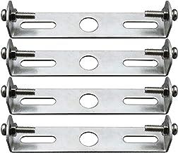 105 mm plafondlamphouder plafondlamp plaathouder geaarde accessoires houder sterk en robuust met schroeven voor geaarde op...