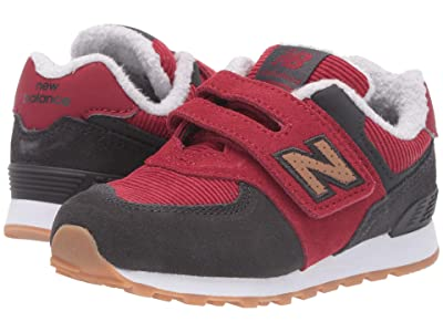 New Balance Kids IVC574v1-USA (Infant/Toddler) (Red Jasper/Phantom) Boys Shoes