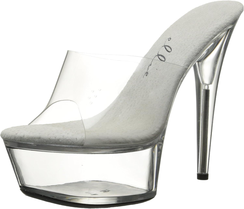 Ellie shoes Women's 609 Vanity Platform Sandal