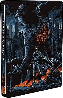 Batman v Superman: El Amanecer de la Justicia - Theatrical & Ultimate Ed. - Mondo Steelbook. Edición exclusiva de Amazon [Italia] [Blu-ray]