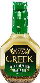 Gazebo Room Greek Salad Dressing 16 oz (6 Pack)