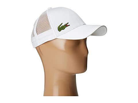Lacoste Classic 5CM Croc Trucker Hat at Zappos.com a896024a0ee