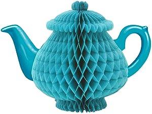 Beistle Tissue Teapot Centerpiece, 7