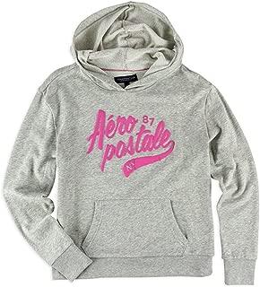 Womens Puff Script Ny Hoodie Sweatshirt