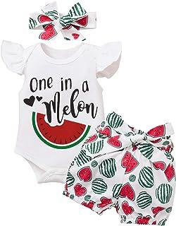 Kucnuzki Toddler Baby Girl Clothes Infant Little Girl Outfit Shirt Denim Jeans Shorts Set Overalls Summer Clothes for Girls