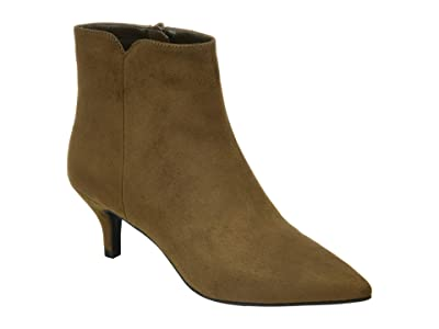 Journee Collection Comfort Foam Isobel Bootie (Olive) Women