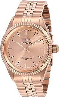 Men's Specialty Rose Gold-Tone Steel Bracelet & Case Quartz Analog Watch 29394