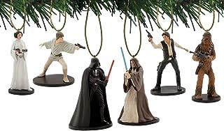 Charateristix Star Wars New Hope 6pc Ornament Set
