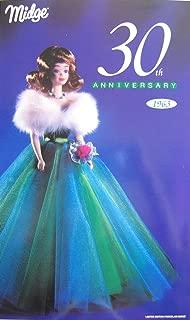 Barbie Midge 30th Anniversary Porcelain Doll 1963 Limited Edition