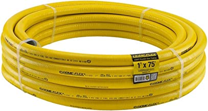 HomeFlex 11-01075 1-Inch x 75-Feet Corrugated  Tubing, Stainless Steel