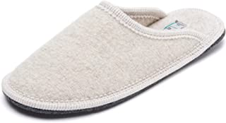 Le Clare Men's Stella Boiled Wool Slipper