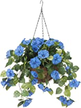 ready made hanging baskets with flowers