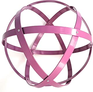 Genesa Crystal, Purificatore energia, Dispositivo orgonico 32 cm diametro, Lilla