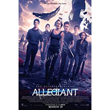 Amazon Com Divergent Allegiant Movie Poster Glossy Finish Made In Usa Mov271 24 X 36 61cm X 91 5cm Posters Prints