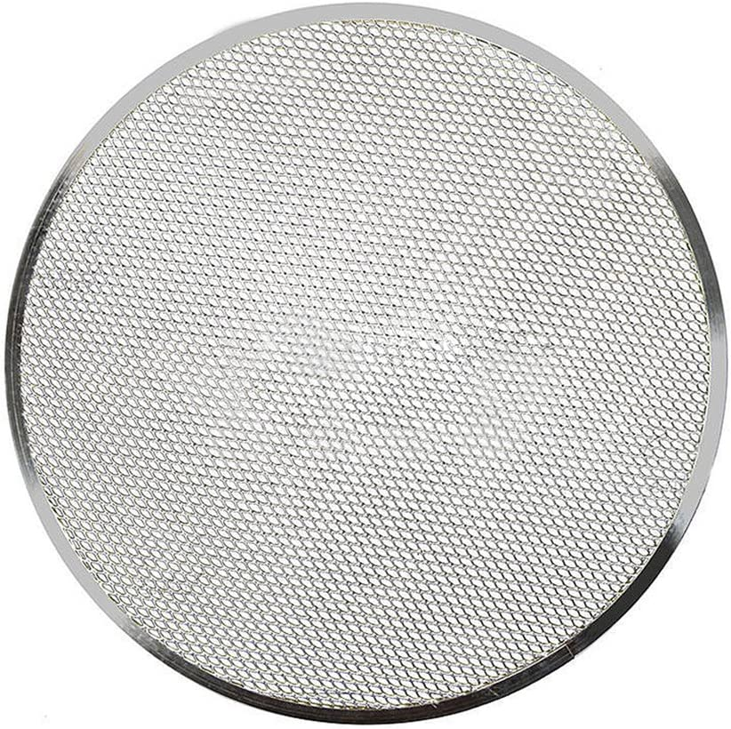 XHXseller Pizza Screen Baking Tray Net Wire 6//8//9//10//12//14 inch Aluminium Alloy Mesh Heavy Duty Bakeware Accessories for Oven Aluminum Alloy