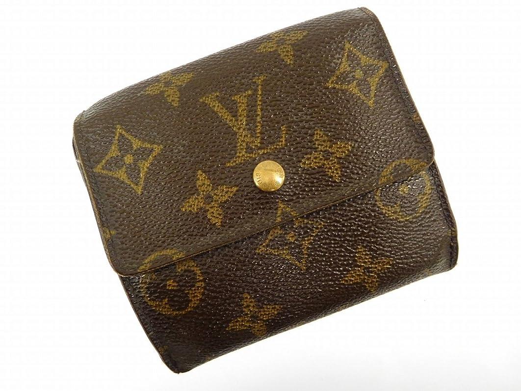 技術手数料シェル[ルイヴィトン] LOUIS VUITTON 二つ折り財布 モノグラム PVC×レザー X14859 中古