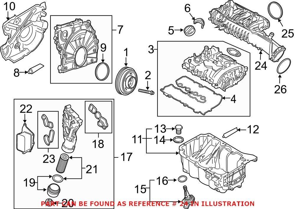 Regular discount Genuine OEM Engine Intake Manifold For F60 F56 F54 Mini F55 Max 41% OFF F57