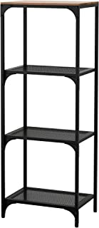 Ikea Fjallbo 703.421.99 - Estantería (tamaño 19, 5/8 x 53 1/2''), Color Negro
