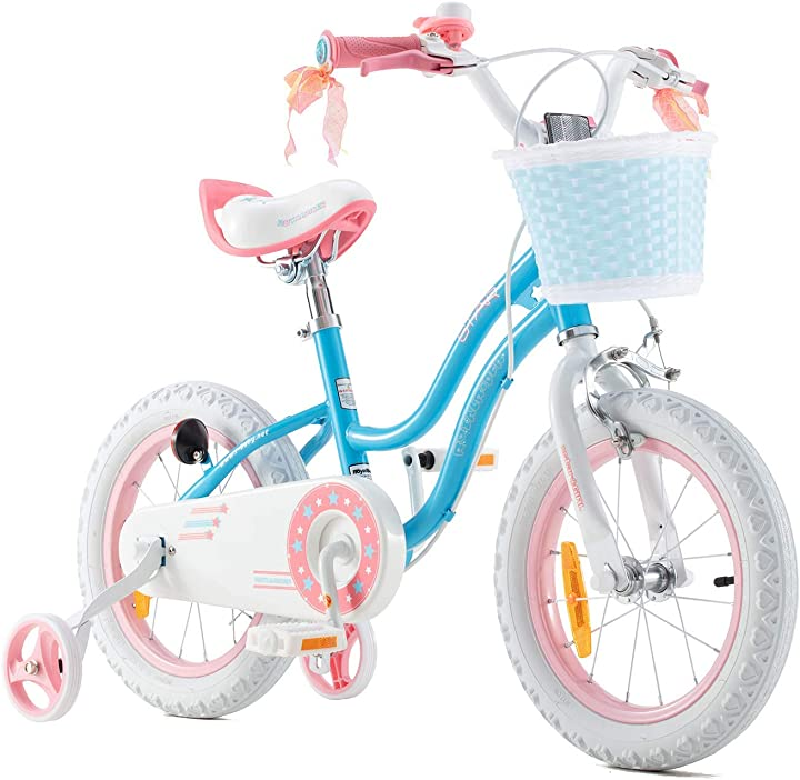 Bici per bambini ragazze 3-9 anni stargirl 12 14 16 18 pollici royalbaby B08M3GTHB3