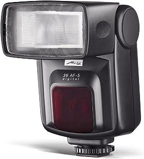Metz Mecablitz 36 AF-5 Digital - Flash con Zapata para Canon, Negro