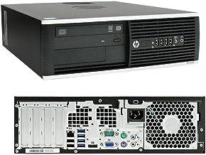 HP Elite 8300 SFF Intel Core I7 3770 @ 3,40 GHz 16 GB 128 GB SSD Quadro NVS 310 W10 Pro garantía 24 meses estándar (reacondicionado certificado)