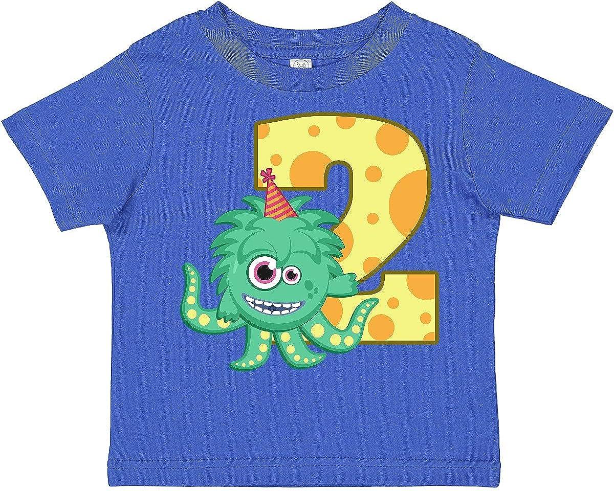 inktastic 2nd Birthday Monster Toddler T-Shirt