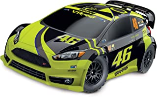 Ford Fiesta ST Rally: 1/10-scale Electric Rally Racer with Officially Licensed Painted Body. Ready-to-Race with TQ 2.4GHz Radio System and XL-5 ESC (FWD/rev).