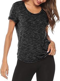 Amoretu Womens Summer T Shirt Tops Casual Loose Basic Tee Tops