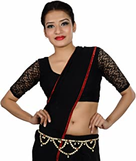 Lucky Jewellery Kamarband Maroon Green in Colour Studed with Pearl and Sparkling Stones Also Known as Waist Chain, Hip Cha...