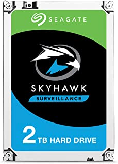 "Seagate Skyhawk Surveillance Drive HDD 3.5"" Internal SATA 2TB HDD, ST2000VX008"
